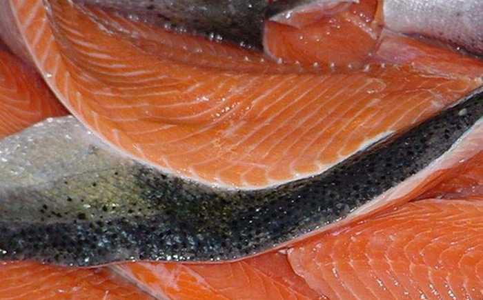 Oppkuttet fisk