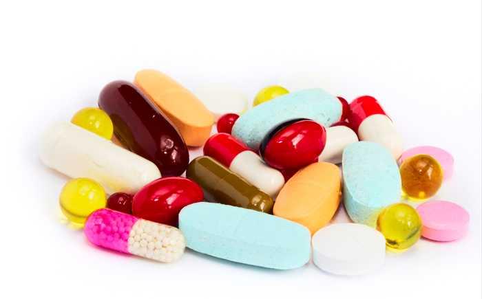 Mange ulike piller/kosttilskudd