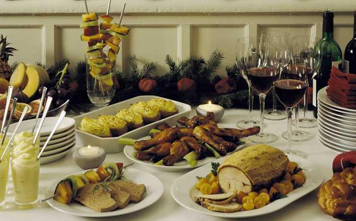 Julbordbuffet