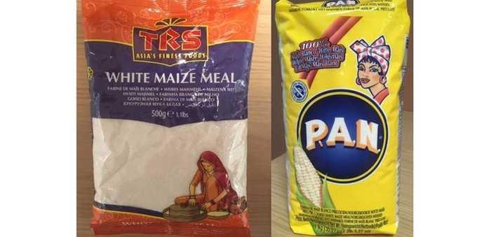 Ulovlig genmodifisert maismel av merkene «TRS» og «P.A.N.»