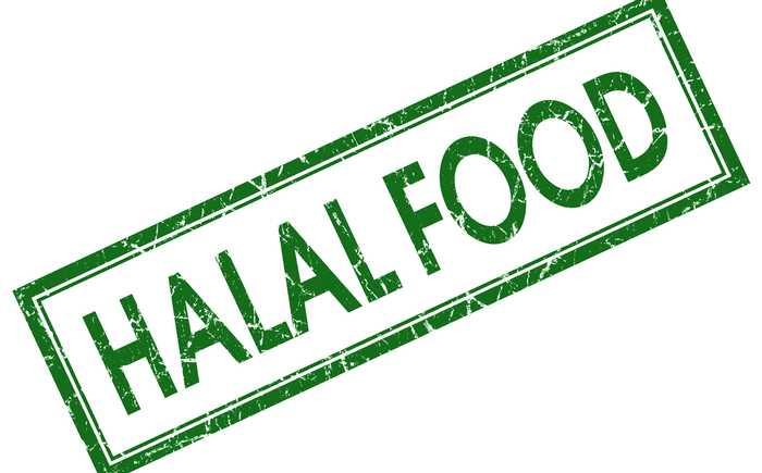 """Bilde av ordet """"Halal food"""""""