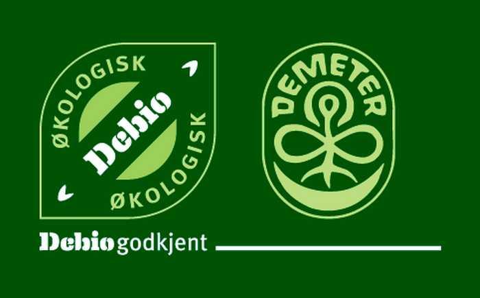 debio og demeter logoer