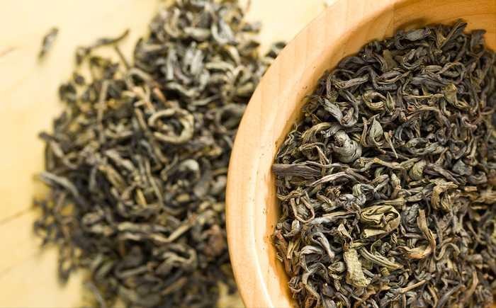 Illustradsjonsfoto, grønn te