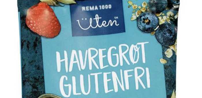 Havregrøt glutenfri skogsbær