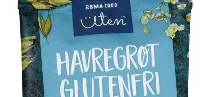 Havregrøt glutenfri 94% fullkorn