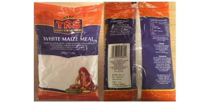 TRZ white maizw meal ulovlig å selge på grunn av GMO