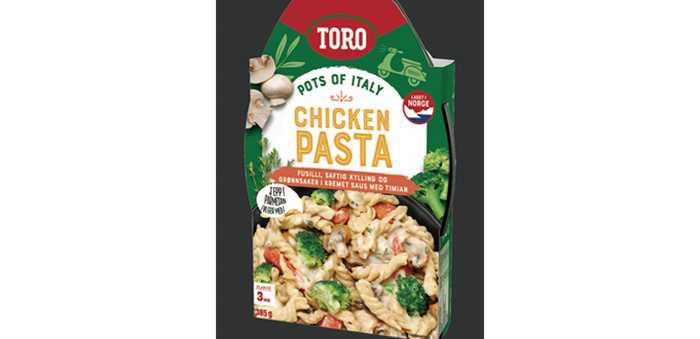 Toro chicken pasta