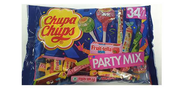 En pakke med Chupa Chups Party Mix