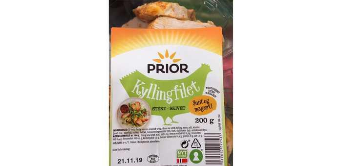 Prior Kyllingfilet Stekt- skivet 200 gram