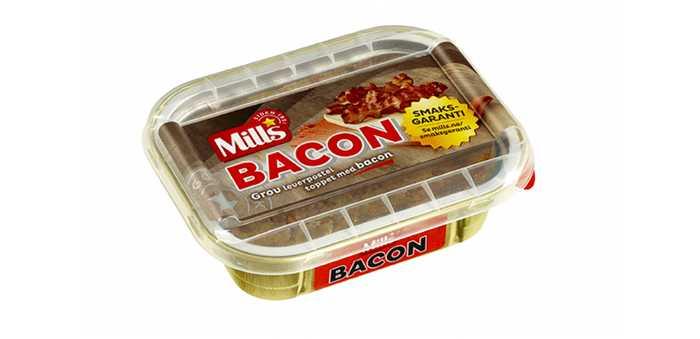 Baconpostei fra Mills