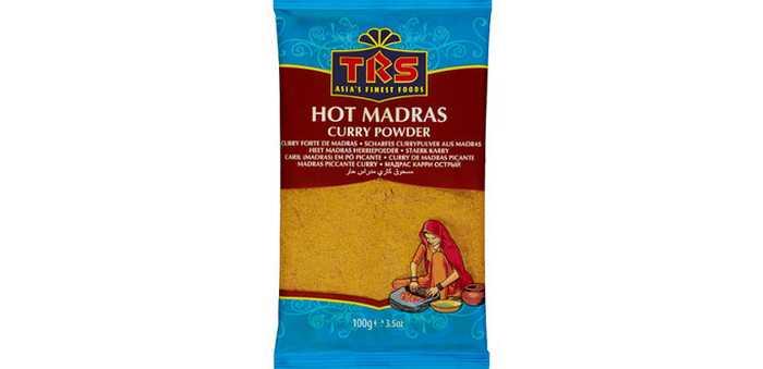 TRS HOT MADRAS CURRY POWDER 100 g