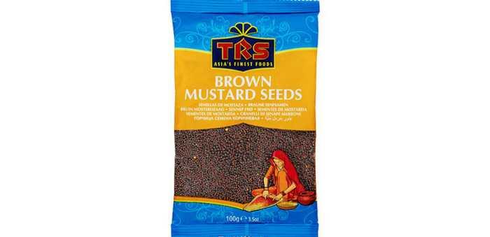 TRS MUSTARD SEEDS BROWN 100 g