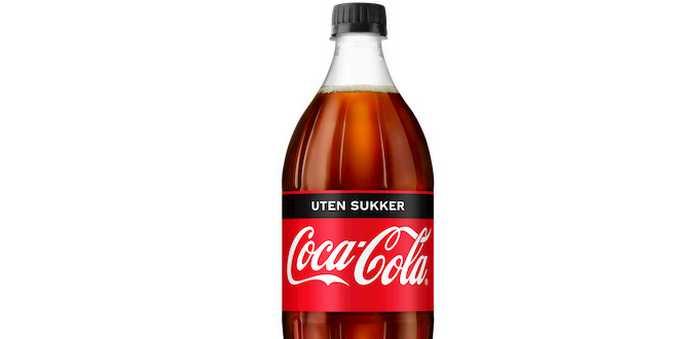 Coca cola zero flaske