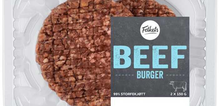 Folkets Beef Burger