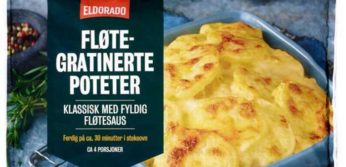 føltegratinerte poteter fra eldorado